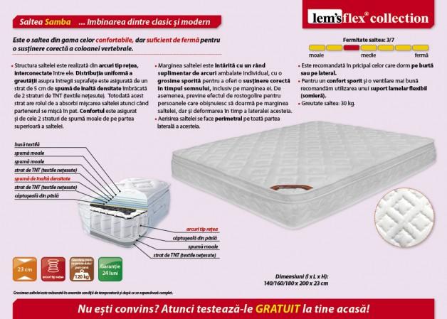 Samba L140 / L160 / L180 cm