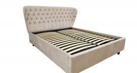 pat, pat modern, pat cu lada, pat cu somiera metalica, pat de calitate, mobilier premium